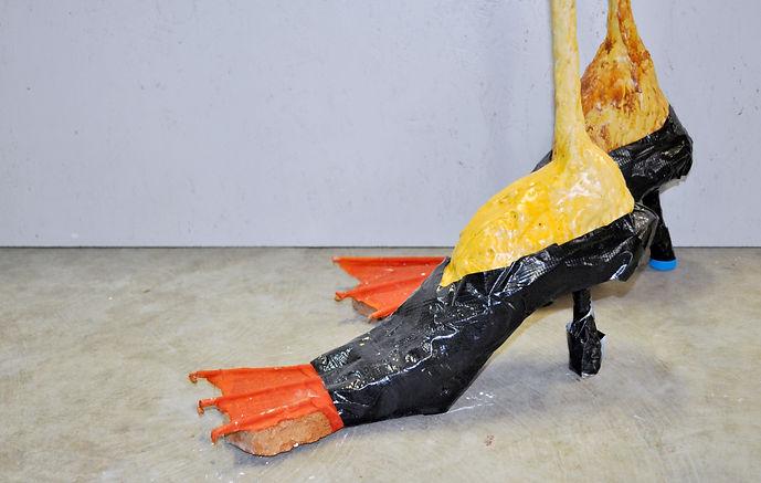 High-Heeled Duck Feet (Artist Impression