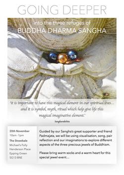 The three refuges - Padmajata