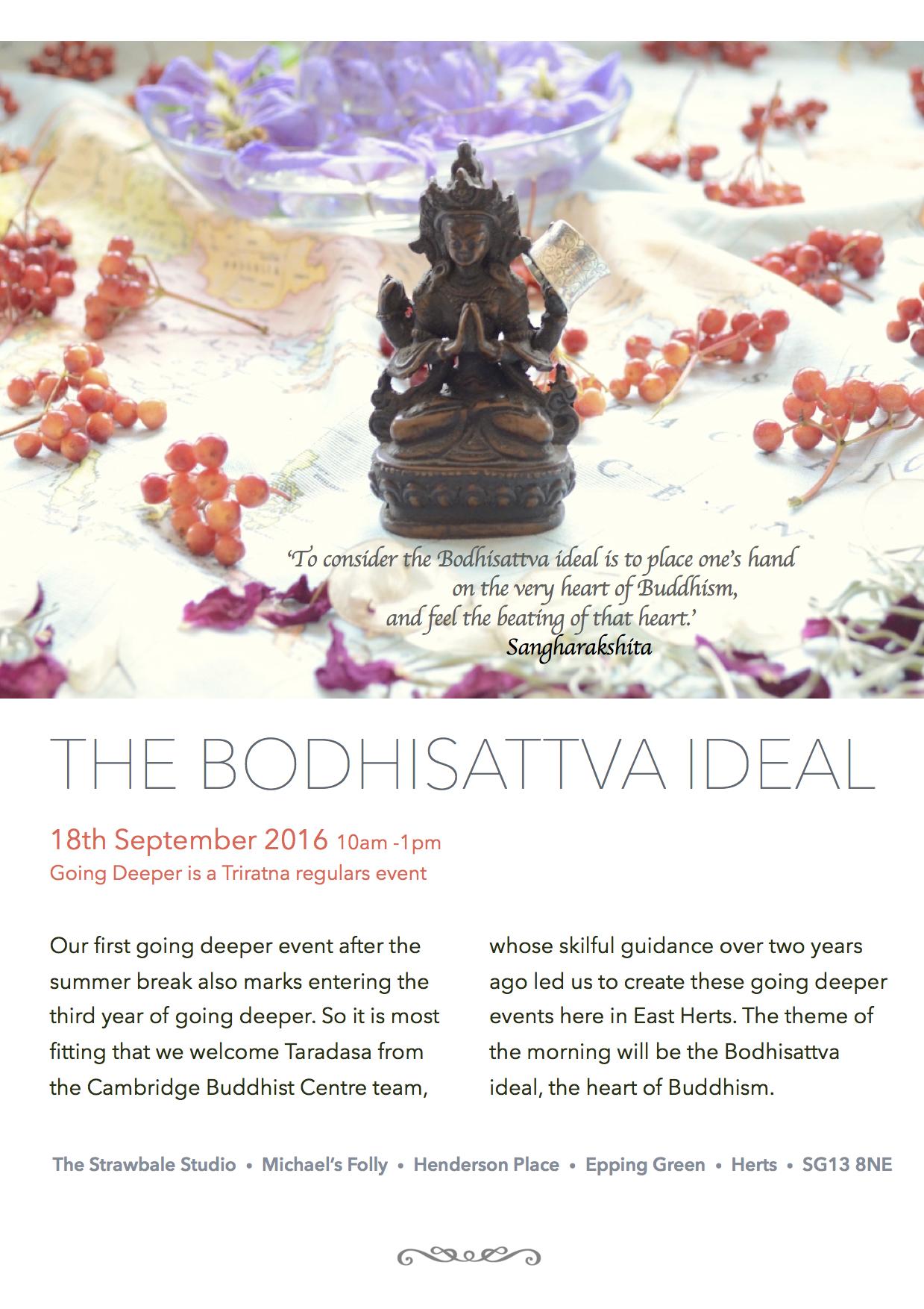 Bodhisattva Ideal - Taradasa
