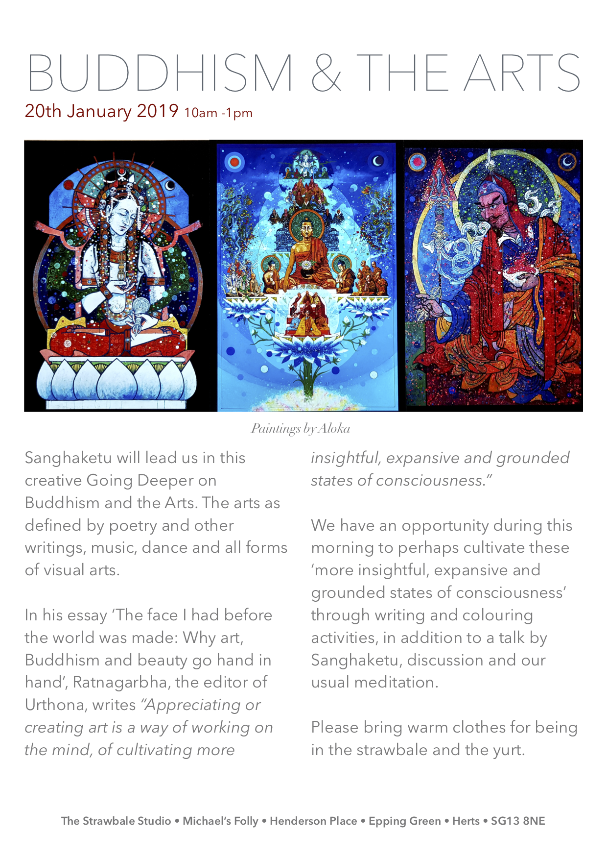 Buddhism & the arts Sanghaketu