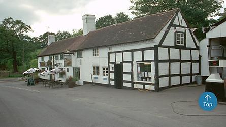 plough garage cottage pub inn pontesbury history historic old half timber