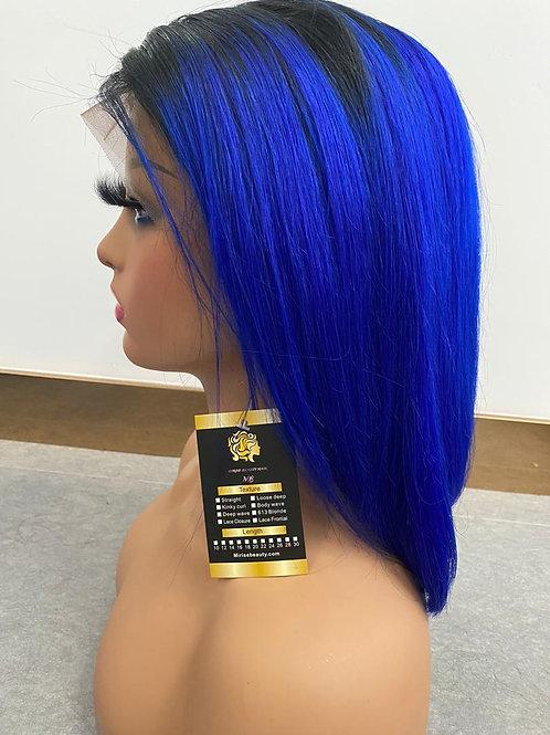 Bob wig 1b blue