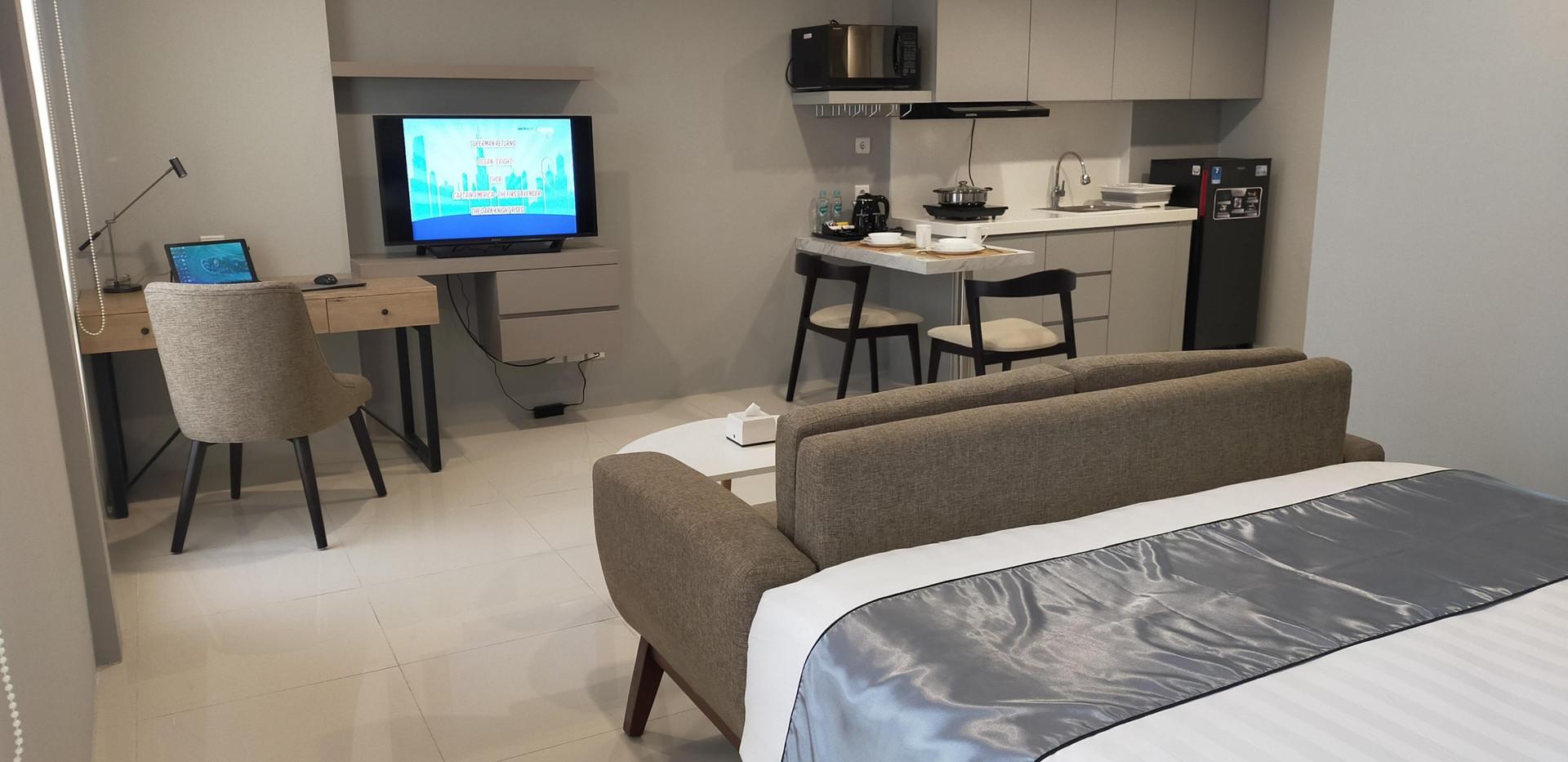 Specious 44 sqm Deluxe Suites Apartment