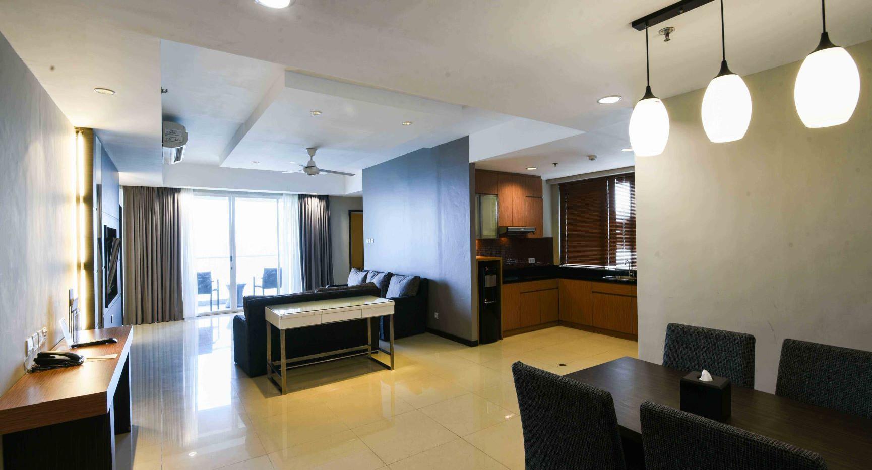 Executive Three Bedroom Family Apartment