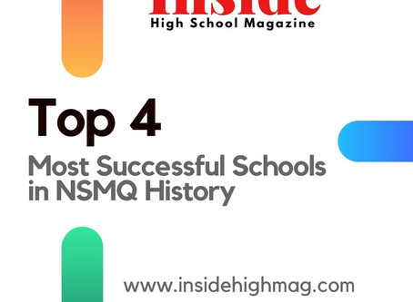 Top Four Most Successful Schools in NSMQ History