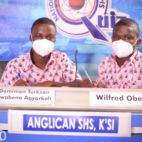 Anglican Senior High School makes it to the Next stage of NSMQ