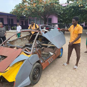 18 year old JHS Graduate Assembles his own car