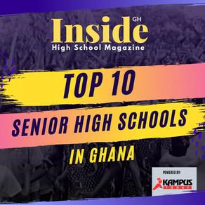 TOP 10 Senior High Schools in Ghana