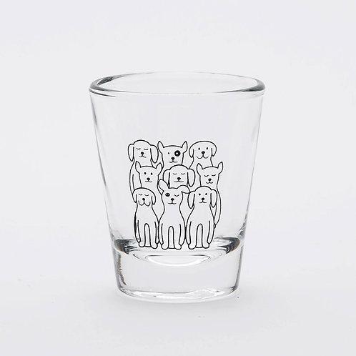Dog Shot Glass