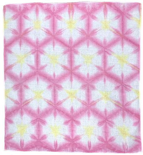 Lisa Bandana Pink-Yellow