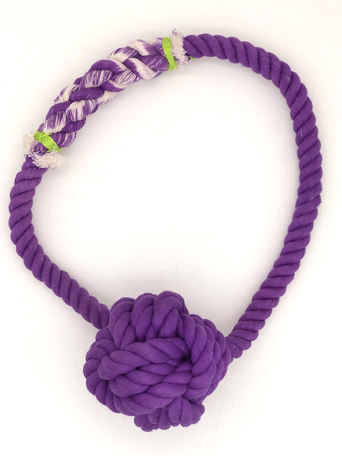 Galaxy Giant Monkey Knot With Giant Loop