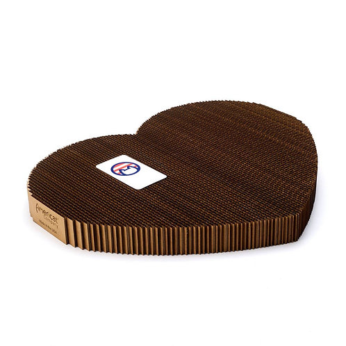 Cat Scratching Pad - Heart Shaped