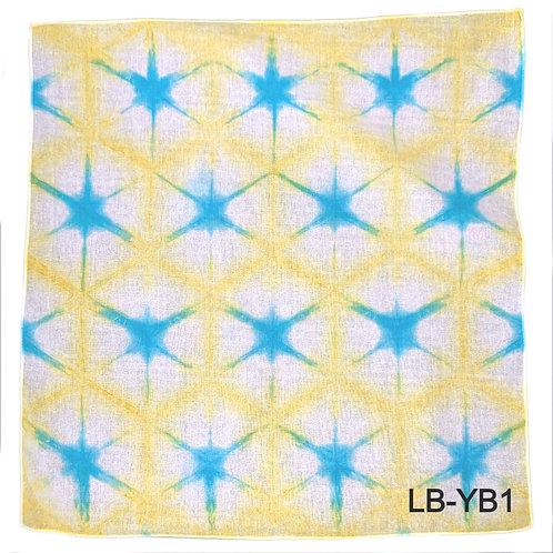 Lisa Bandana Yellow-Blue