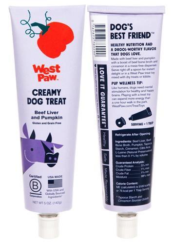 Creamy Dog Treat - Beef Liver and Pumpkin