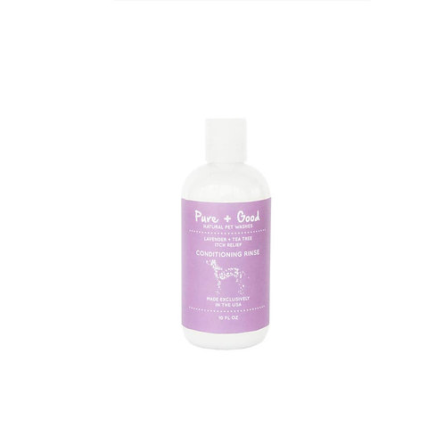 10 oz Purifying Conditioning Rinse: Lavender + Tea Tree