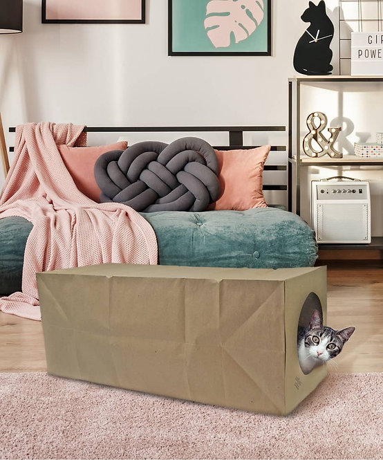 Hide and Sneak Cat Toy Tunnel