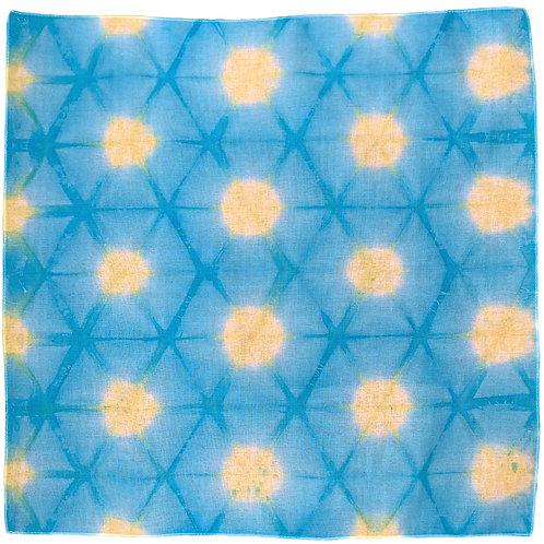 Lisa Bandana Blue-Yellow
