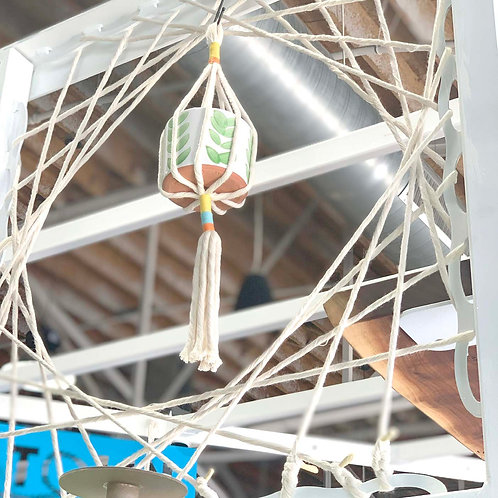 Hanging Macrame Pot Holder