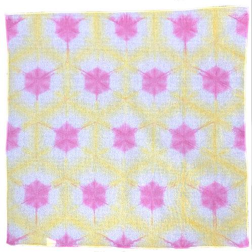 Lisa Bandana Yellow-Pink