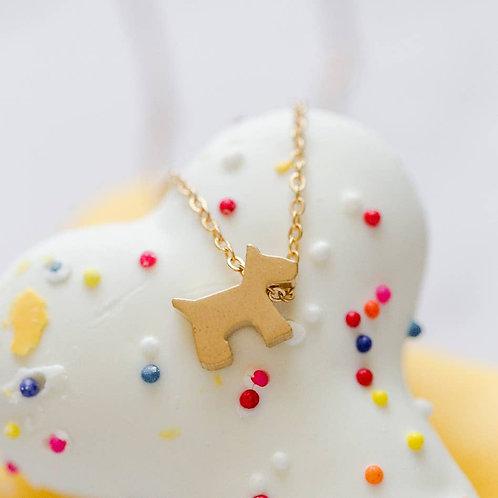 Scottie Dog Necklace
