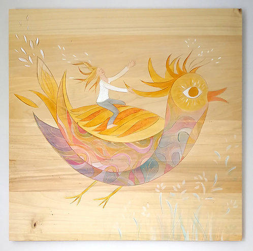 L'oiseau soleil