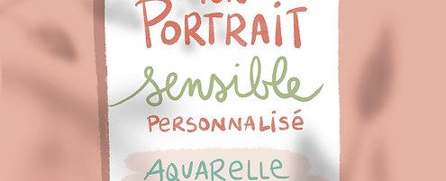 Portrait sensible