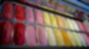 boho gelato pride cabinet rainbow ice cream
