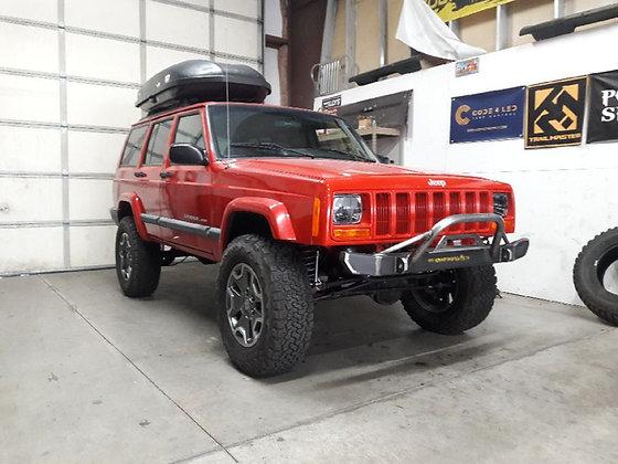 XJ/Cherokee Front Winch Bumper