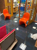 Flood water in lower hall
