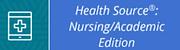 Health Source Academic Edition logo
