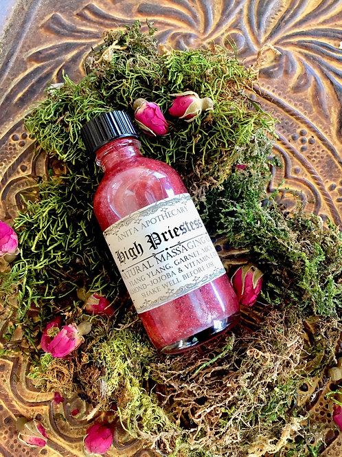 High Priestess Natural Massage Oil