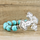 Thumbnail: stone crystal cross turquoise