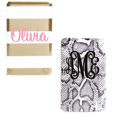 Monogrammed Power Bank