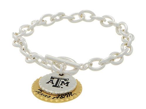 Texas A&M Charm Bracelets