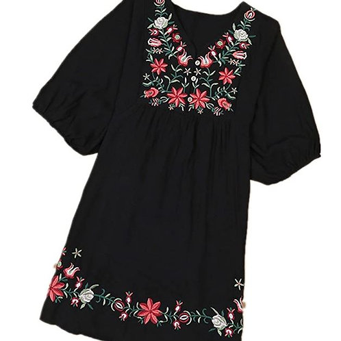 Sway Embroidered Dress/Blouse