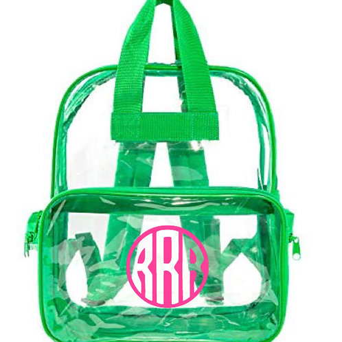 ClearPersonalized Backpacks
