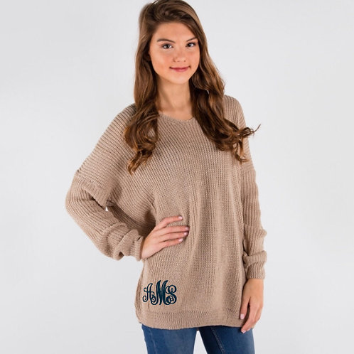 Monogram Sweater