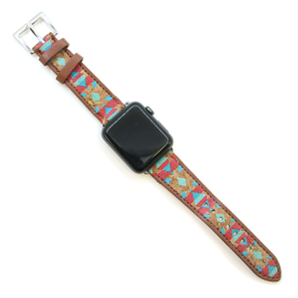 Aztec Leather Apple watch Band