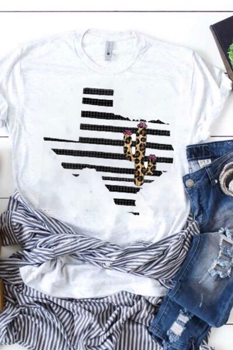 Texas Stripe Tee