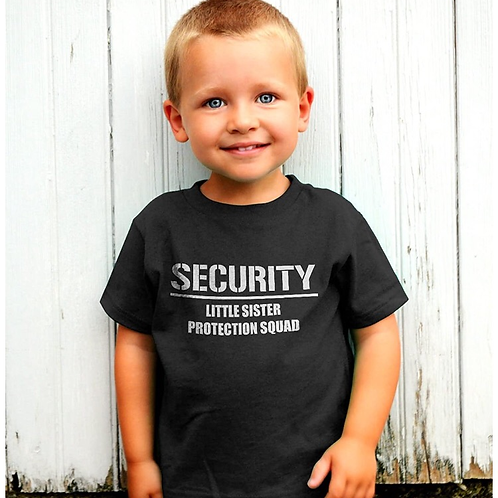 Little Sister Security Team Tee