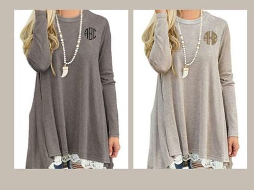 Tunics with Monogram
