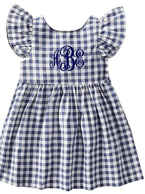 Monogrammed Toddler Dresses