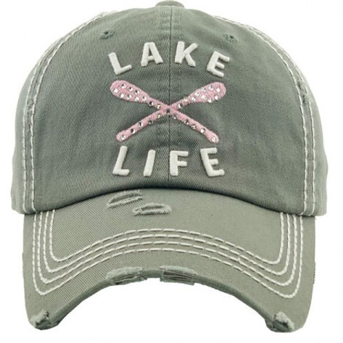 Lake Life Vintage Caps