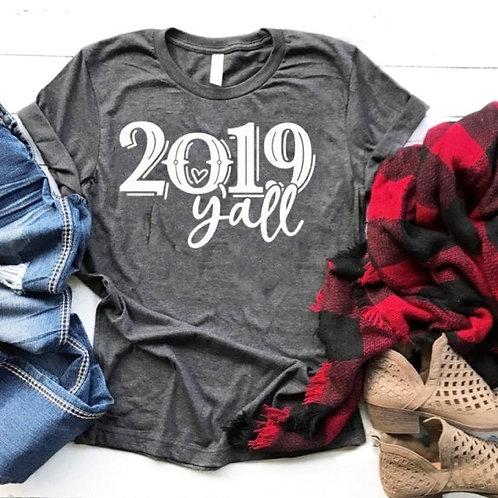 2019 Y'all Tee