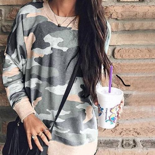 Camo Sweatshirt Monogrammed