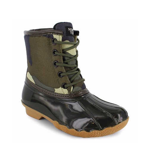 Camo Duck Boots for Boys
