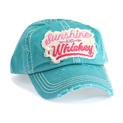 Sunshine & Whiskey Caps