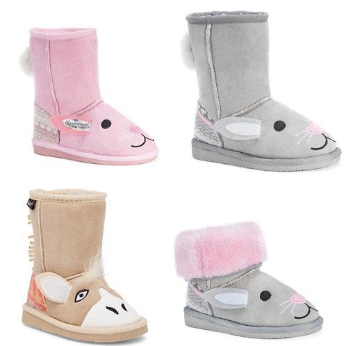 Muk Muk Fur Lined Animal Boots