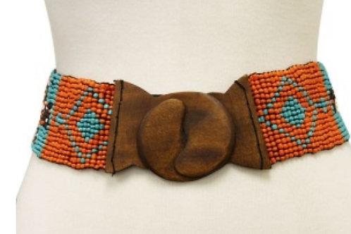 Aztec Bead Seed Belt