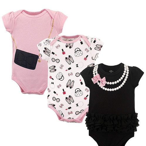 Personalized 3 Set Body Suits